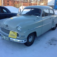 Opel Rekord 1956